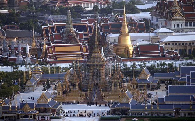 Đài hoá thân sẽ là biểu tượng cao nhất cho các giá trị nghệ thuật và kiến trúc Thái Lan.