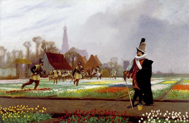 Họi chứng hoa tulip được coi là bong bóng đầu cơ đầu tiên được ghi lại trong lịch sử (hay là bong bóng kinh tế).