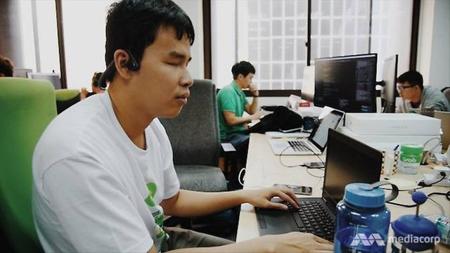 Giang là lập trình viên khiếm thị duy nhất ở Grab, và có lẽ là duy nhất ở toàn Châu Á này.