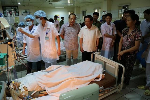 Bệnh nhân đang điều trị tại BV đa khoa tỉnh Hòa Bình.