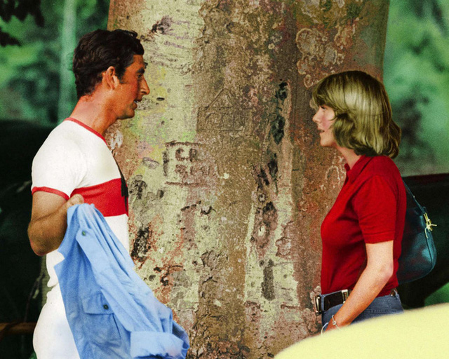 Thái tử Charles và Camilla trong một buổi gặp gỡ.