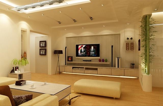 Tối giản về nội thất sẽ giúp căn hộ nhỏ trở nên thoáng rộng.