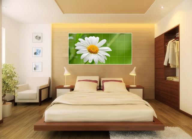 Không chỉ được sử dụng trong phòng khách, 1 số bức tranh tuyệt đẹp này còn có mặt ở toàn bộ 1 số không gian khác trong nhà, thậm chí là phòng ngủ.