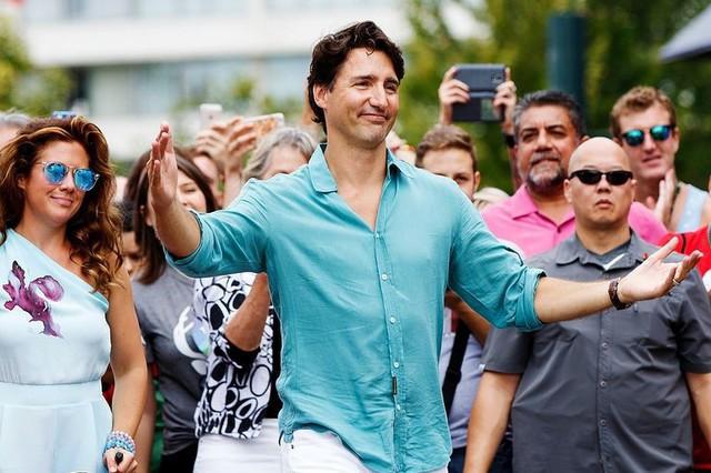 Khi phong trần và lịch lãm hòa làm một, ta có Justin Trudeau.