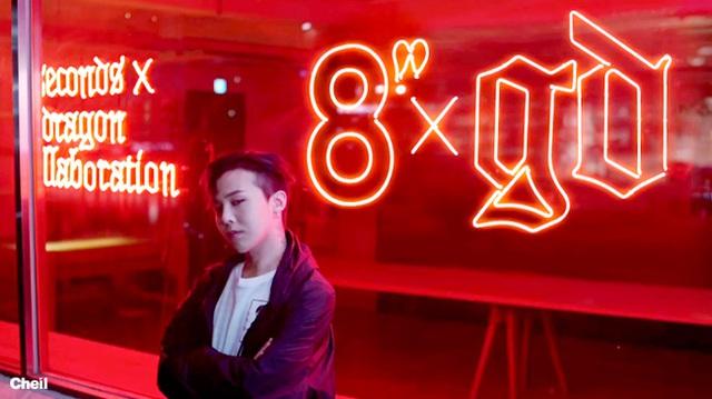 8 Seconds đã hợp tác với ca sĩ nổi tiếng G-Dragon để cho ra mặt một dòng sản phẩm riêng.