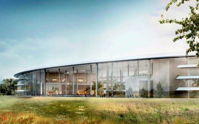 Apple Campus 2 sau khi hoàn thành sẽ cung cấp nơi làm việc cho 13.000 nhân viên của tập đoàn.
