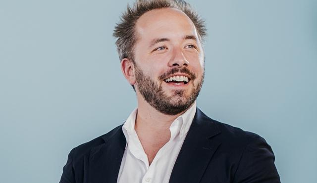 Đồng sáng lập kiêm CEO Dropbox Drew Houston, 34 tuổi