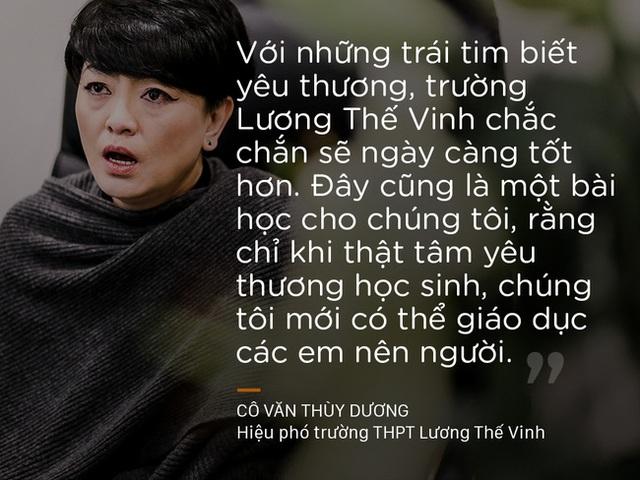 Nhưng cô Thùy Dương và cha mình luôn tin rằng, việc giữ gìn nó sẽ phụ thuộc nhiều vào học sinh và giáo viên trong trường.