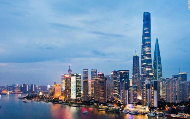 òa tháp cao chọc trờ này nằm ở thành phố Thượng Hải, Trung Quốc