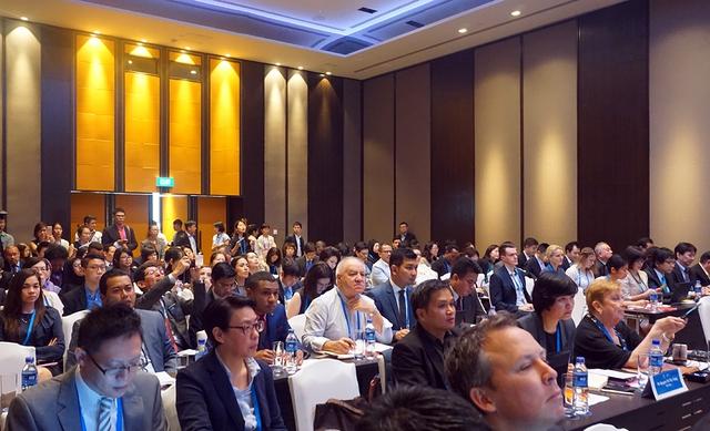 Các đại biểu dự Đối thoại của APEC về các RTAs/FTAs trong khu vực châu Á – Thái Bình Dương. Ảnh: Linh Anh