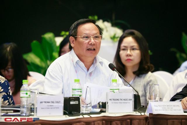 Tổng cục trưởng Tổng cục Du lịch Nguyễn Văn Tuấn (Ảnh: Thành Đạt)