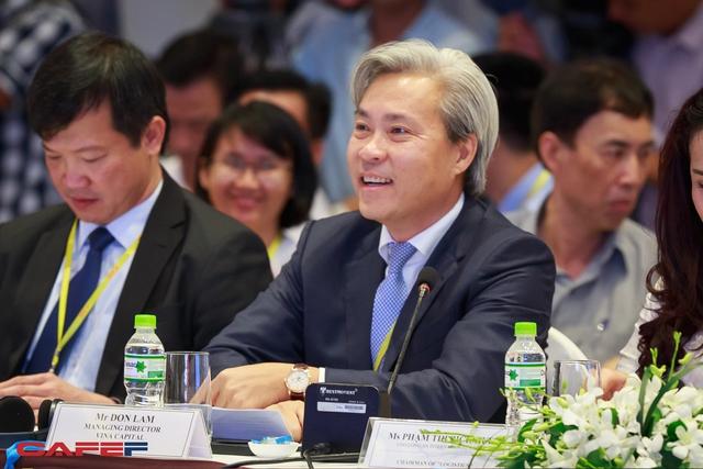 Một gương mặt quen thuộc của các diễn đàn kinh tế - ông Don Lam, CEO VinaCapital. Doanh nhân này đại diện cho khu vực tư nhân tham gia đối thoại Chương trình hành động của khu vực tư nhân từ Nghị quyết Trung ương 5.