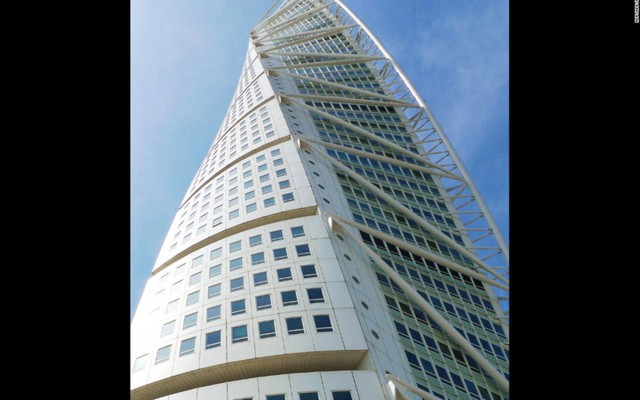 Tòa nhà cao chót vót này nằm ở Malmo, Thụy Điển