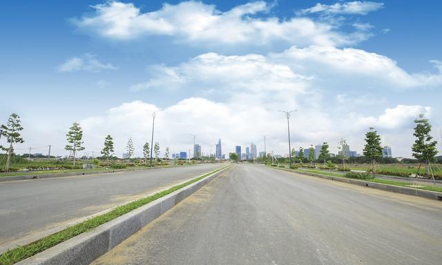 Theo quy hoạch, khu đô thị được chia làm 5 khu vực chính: khu vực lõi trung tâm, khu dân cư phía Bắc, khu dân cư dọc đại lộ Mai Chí Thọ, khu dân cư phía Đông, khu châu thổ phía Nam.