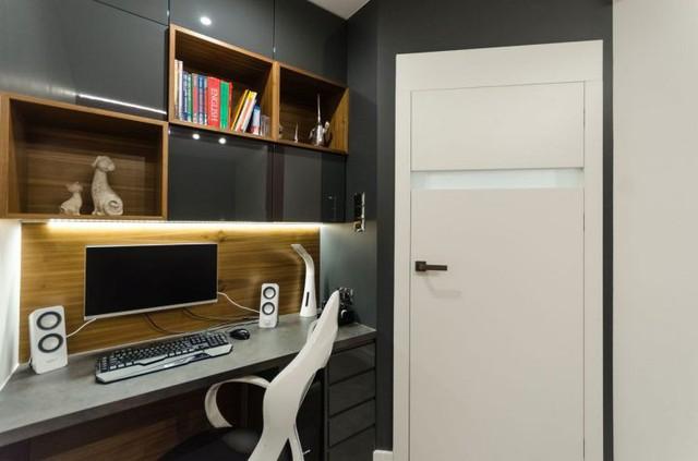 Nội thất căn hộ chung cư 43m2 được phối màu đẹp ngất ngây - Ảnh 8.