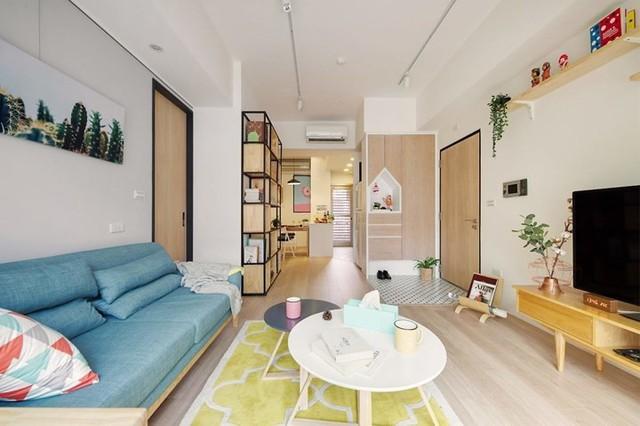 Căn hộ 63 m2 có một phòng ngủ ấm cúng - Ảnh 1.