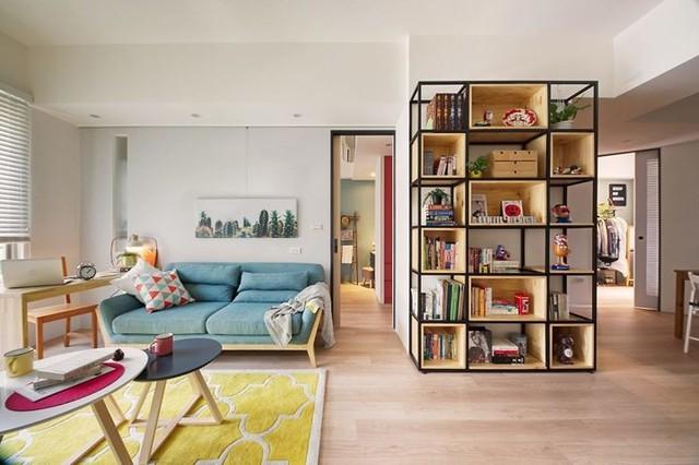 Căn hộ 63 m2 có một phòng ngủ ấm cúng - Ảnh 2.