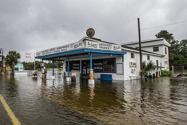 Siêu bão Michael đổ bộ vào Mỹ và Panama có sức tàn phá khủng khiếp - Ảnh 16.