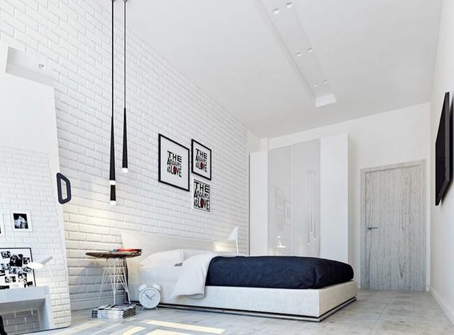 Phòng ngủ màu trắng nhẹ nhàng và thư giãn - Ảnh 9.