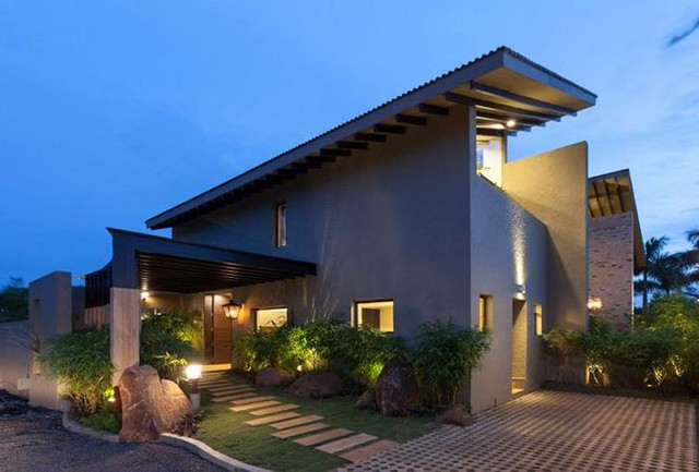 9 mẫu nhà mái thái đẹp ngất ngây, giá thành thấp - Ảnh 3.