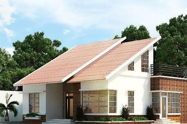 9 mẫu nhà mái thái đẹp ngất ngây, giá thành thấp - Ảnh 7.
