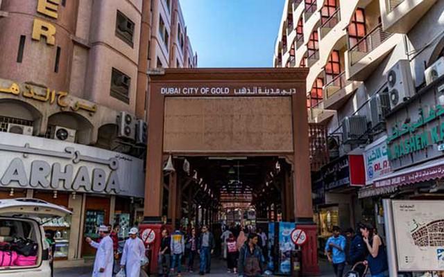 Choáng ngợp trước chợ vàng lớn nhất thế giới ở Dubai - Ảnh 1.