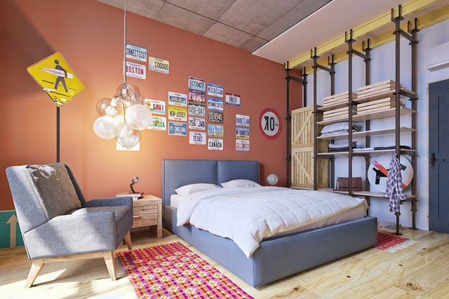 Bày biện, trang trí phòng ngủ đặc biệt khiến nhiều người mê mẩn - Ảnh 10.