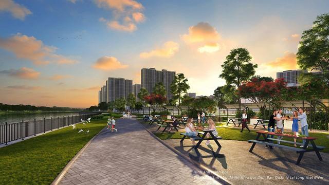 Vinhomes chính thức công bố đại đô thị có biển hồ nước mặn Thứ nhất ở Việt Nam - Ảnh 2.