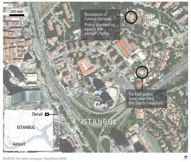 NYT: Nhóm đối tượng nghi cắt ngón tay, chặt đầu nhà báo Khashoggi từng tháp tùng thái tử Saudi - Ảnh 1.