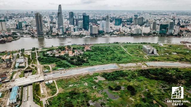 Toàn cảnh khu đất vàng Thủ Thiêm, dự tính xây quảng trường hơn 2.000 tỷ có tên Chủ tịch Hồ Chí Minh - Ảnh 9.