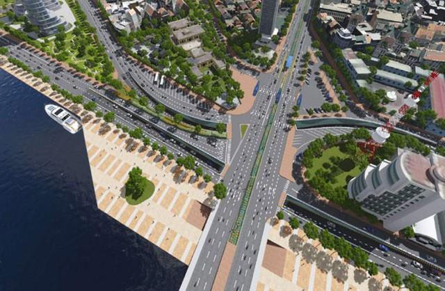 Đà Nẵng: Đầu tư 2 dự án hầm chui ở nút giao thông phía tây cầu Rồng - Ảnh 2.