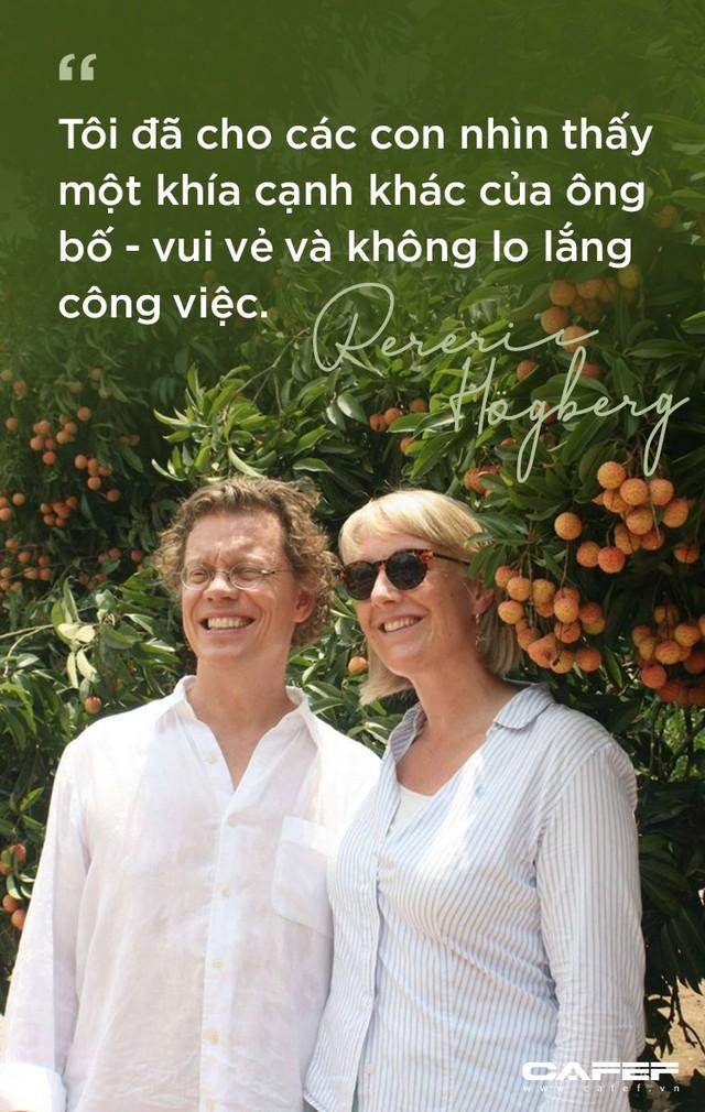 Đại sứ Thuỵ Điển: Đàn ông Việt nên có sự chia sẻ việc gia đình, độc đáo là trách nhiệm nuôi dạy con! - Ảnh 10.