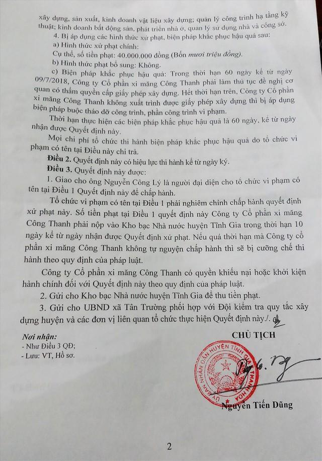 Cận cảnh villa khủng xây trái phép của Công ty xi măng Công Thanh - Ảnh 2.
