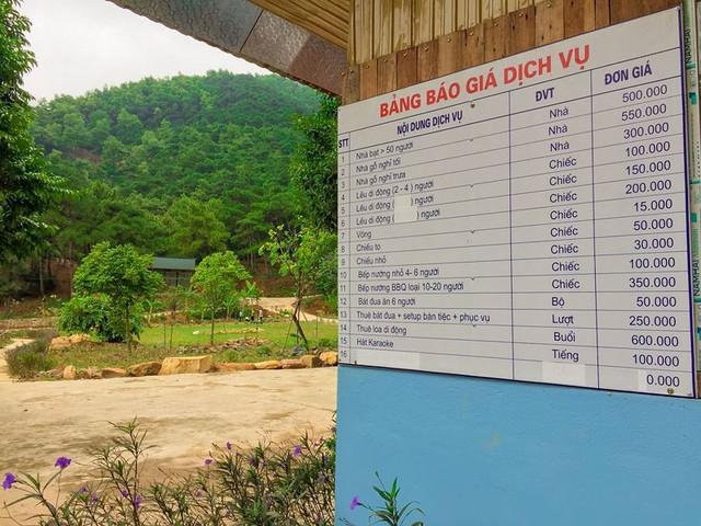 Bên trong khu sinh thái khủng ở Sóc Sơn chính quyền xem là nhà tạm - Ảnh 14.