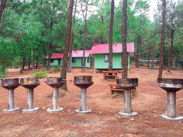 Bên trong khu sinh thái khủng ở Sóc Sơn chính quyền xem là nhà tạm - Ảnh 9.