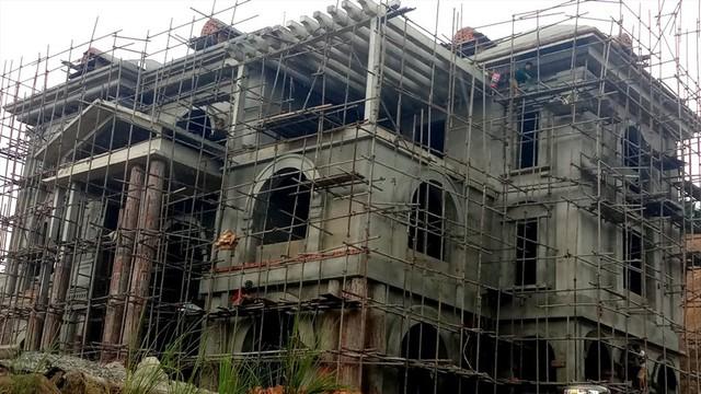 Cận cảnh villa khủng xây trái phép của Công ty xi măng Công Thanh - Ảnh 10.