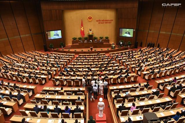 Những hình ảnh ấn tượng trong Lễ tuyên thệ nhậm chức của Chủ tịch nước Nguyễn Phú Trọng - Ảnh 1.