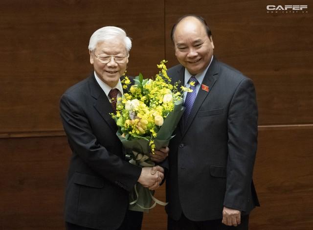 Những hình ảnh ấn tượng trong Lễ tuyên thệ nhậm chức của Chủ tịch nước Nguyễn Phú Trọng - Ảnh 13.
