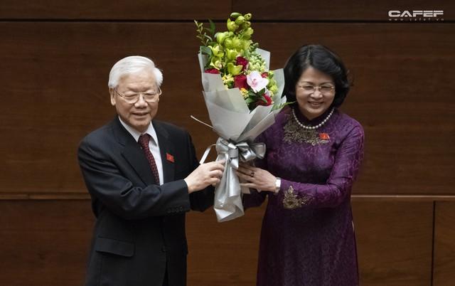 Những hình ảnh ấn tượng trong Lễ tuyên thệ nhậm chức của Chủ tịch nước Nguyễn Phú Trọng - Ảnh 11.