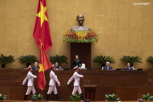 Những hình ảnh ấn tượng trong Lễ tuyên thệ nhậm chức của Chủ tịch nước Nguyễn Phú Trọng - Ảnh 2.