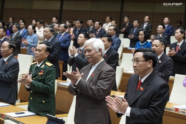 Những hình ảnh ấn tượng trong Lễ tuyên thệ nhậm chức của Chủ tịch nước Nguyễn Phú Trọng - Ảnh 8.