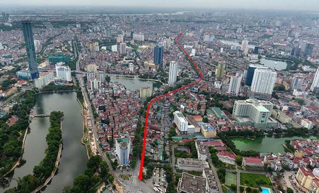 Hà Nội chính thức duyệt tuyến một vài con phố đắt nhất hành tinh hơn 7.200 tỷ - Ảnh 1.