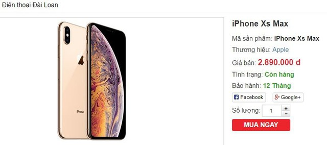 iPhone XS Max, iPhone XR hàng nhái, giá dưới 3 triệu đồng náo loạn thị trường - Ảnh 2.