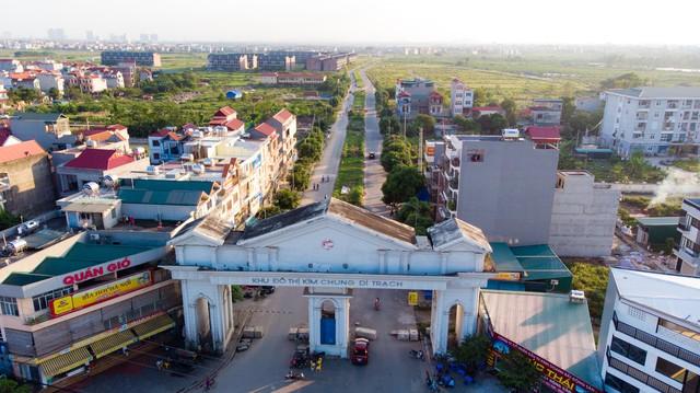 Toàn cảnh khu thành thị Kim Chung - Di Trạch vừa được điều chỉnh quy hoạch để giải cứu - Ảnh 1.