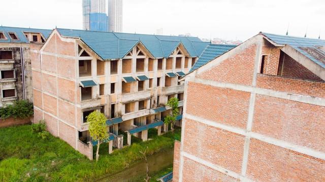 Toàn cảnh khu thành thị Kim Chung - Di Trạch vừa được điều chỉnh quy hoạch để giải cứu - Ảnh 2.