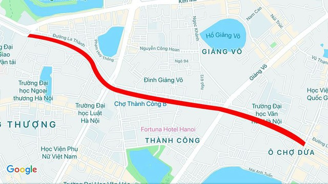 Toàn cảnh tuyến các con phố đắt nhất hành tinh vừa được Hà Nội phê duyệt - Ảnh 13.