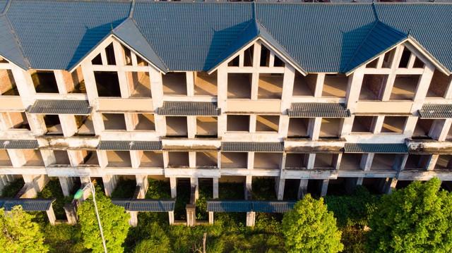 Toàn cảnh khu thành thị Kim Chung - Di Trạch vừa được điều chỉnh quy hoạch để giải cứu - Ảnh 5.