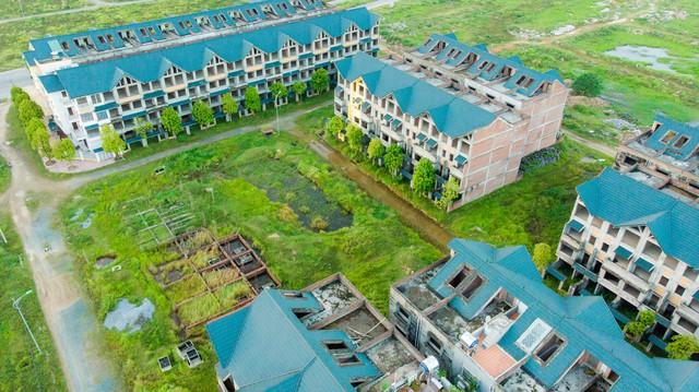 Toàn cảnh khu thành thị Kim Chung - Di Trạch vừa được điều chỉnh quy hoạch để giải cứu - Ảnh 7.