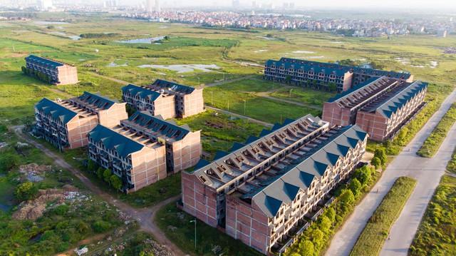Toàn cảnh khu thành thị Kim Chung - Di Trạch vừa được điều chỉnh quy hoạch để giải cứu - Ảnh 8.