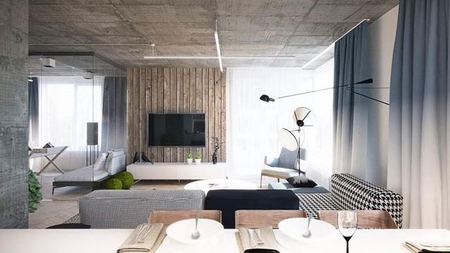 Không cần tô trát, ngôi nhà vẫn mang phong cách đẹp hiện đại - Ảnh 3.